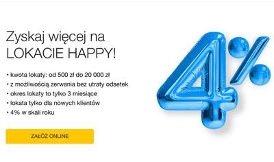 Oferta lokaty Happy w Idea Banku